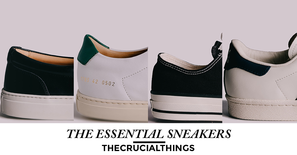 essential sneakers - the crucial things