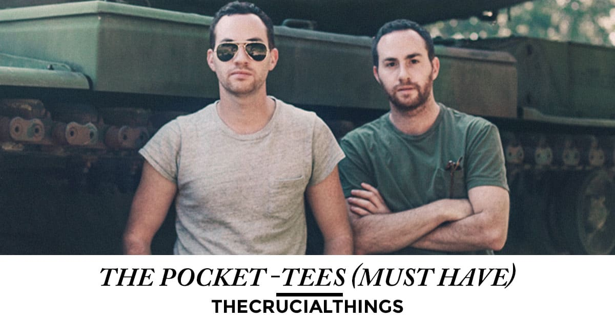 pocket tee - thecrucialthings