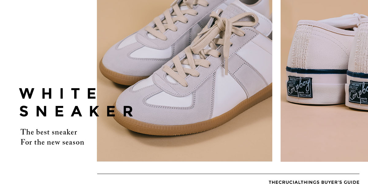 white sneaker _ รองเท้า sneaker สีขาว _ featured image