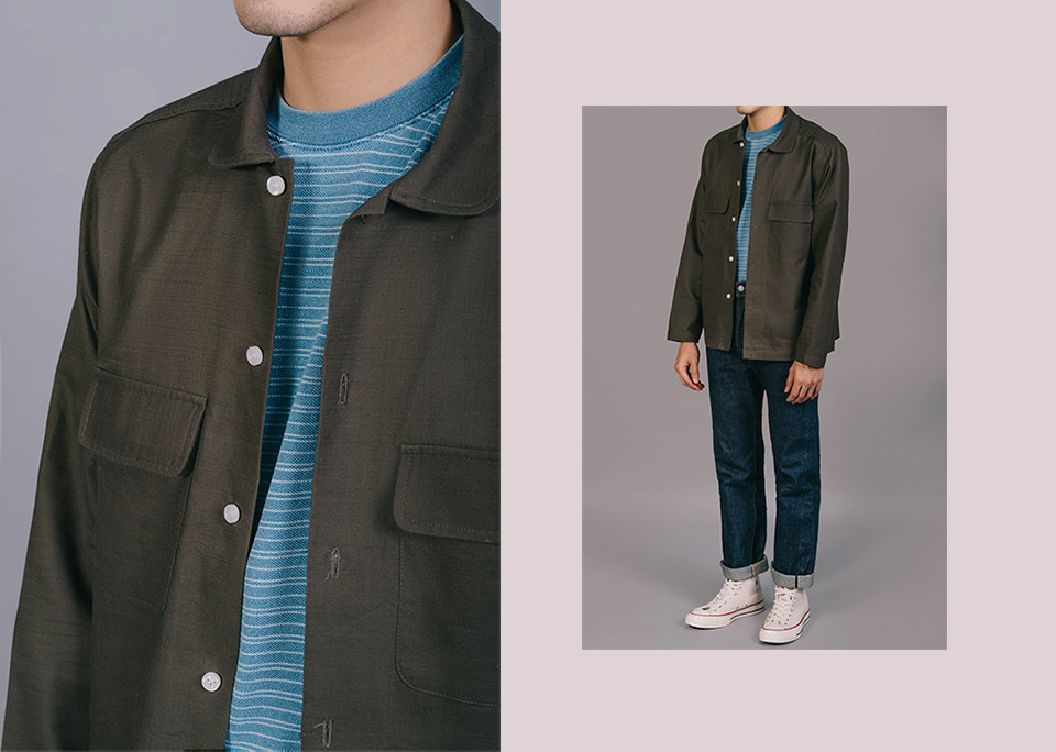 field jacket editorial - look 6
