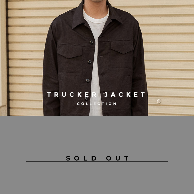 Trucker Jacket - lookbook - sold out