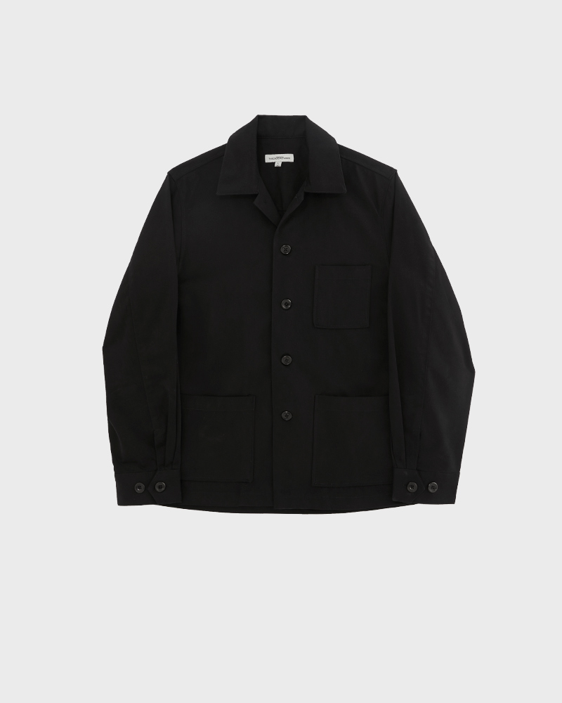 Chore jacket black - pack shot