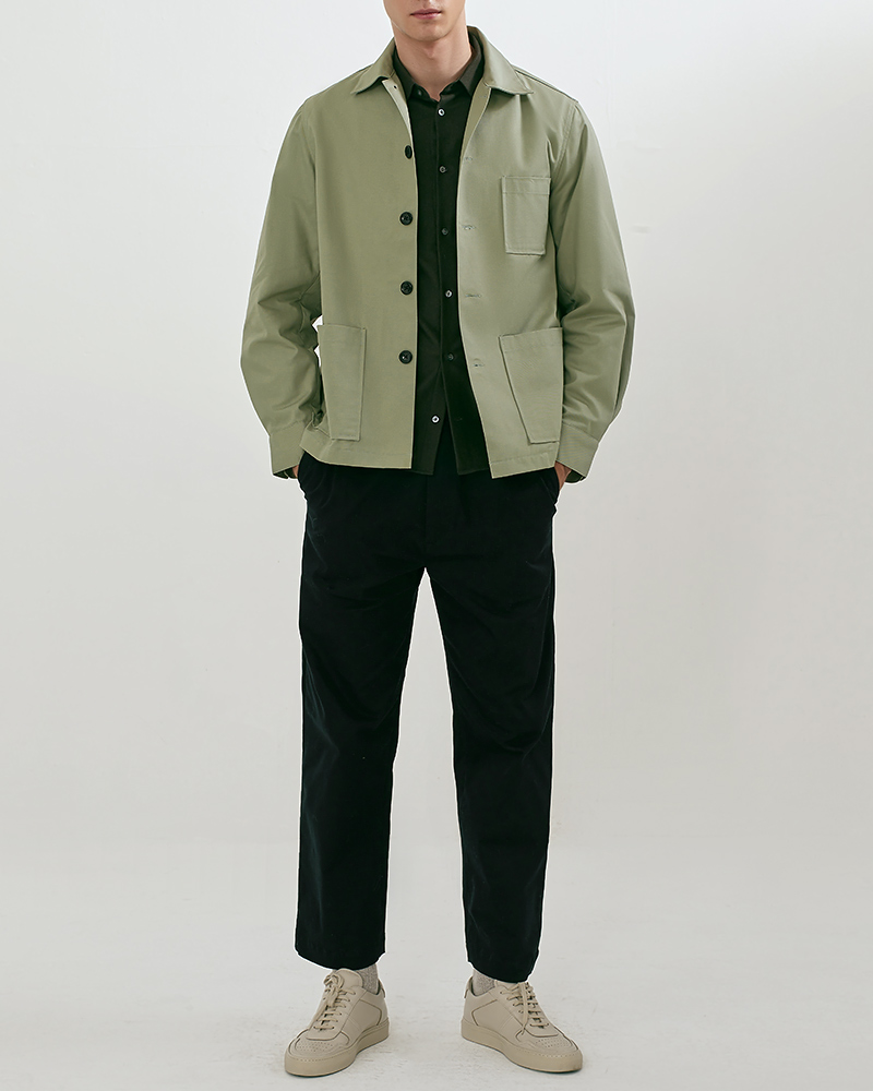 Chore jacket in mint