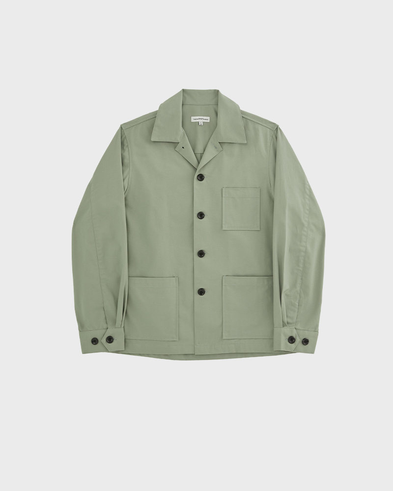 Chore jacket in mint - pack shot