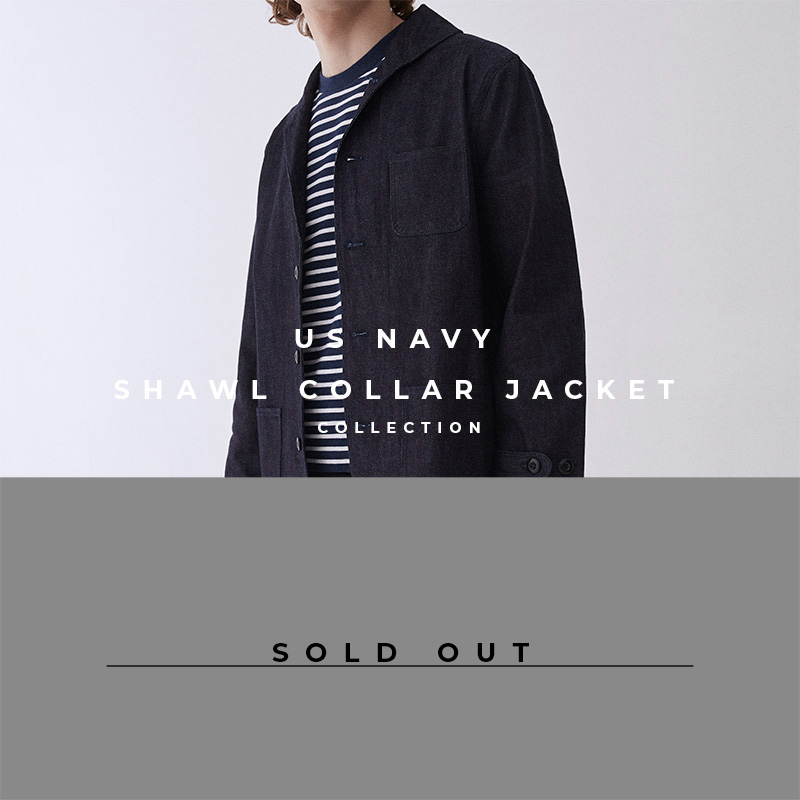 US Navy Shawl Collar - Sold Out