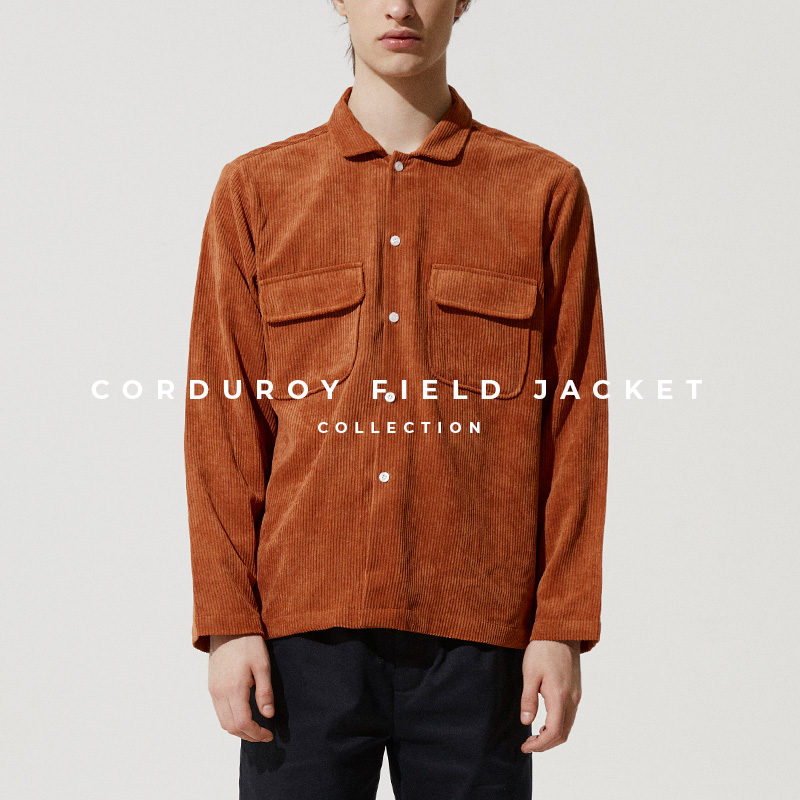 Corduroy Field Jacket Lookbook Page Cover