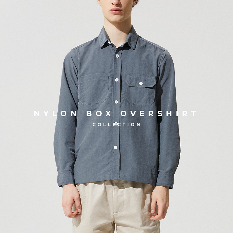 Nylon Box Overshirt Lookbook Cover