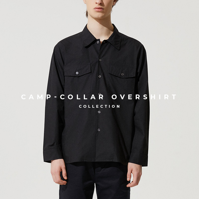 Camp-Collar Overshirt - Lookbook Cover