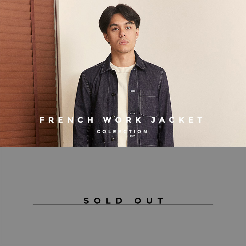 French Work Jacket Lookbook - Sold Out