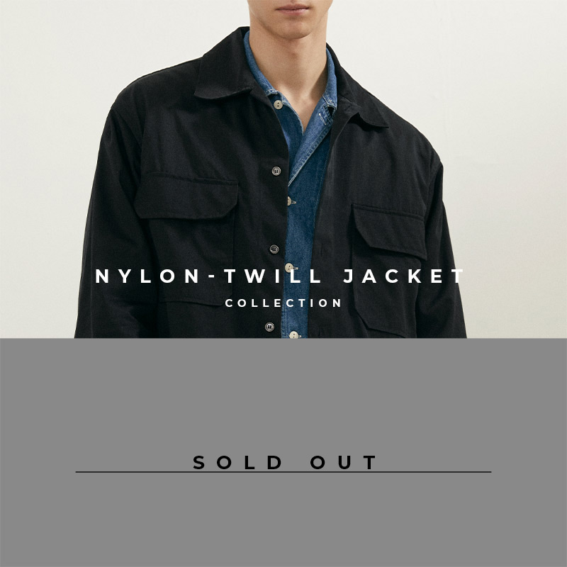 Nylon-Twill Jacket - Lookbook Cover - Sold Out