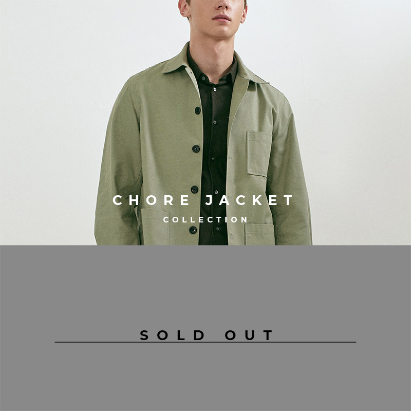 Chore Jacket - Lookbook Cover - Sold Out