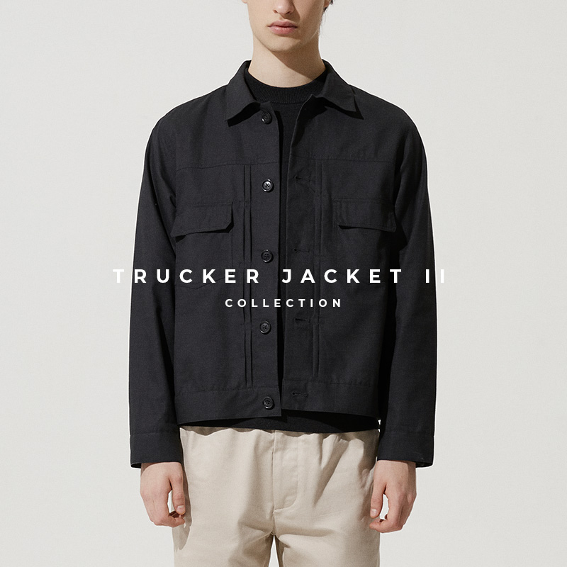 Trucker Jacket Version 2 - Lookbook Cover