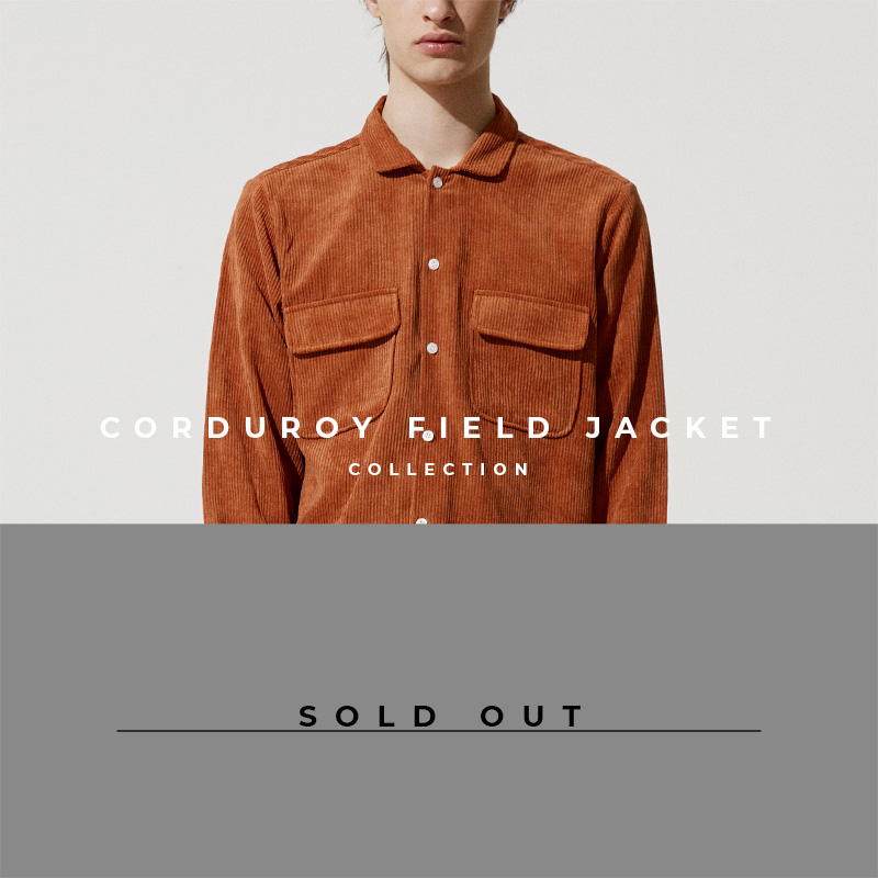 Corduroy Field Jacket - Lookbook Cover - Sold Out