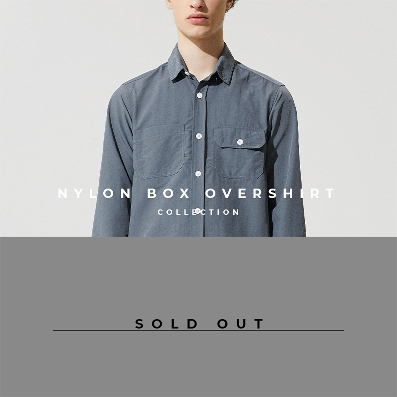 Nylon Box Overshirt - Lookbook Cover - Sold Out