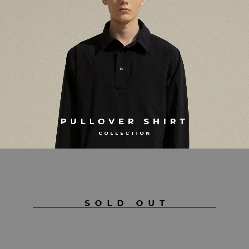 Pullover Shirt - Lookbook Cover - Sold Out