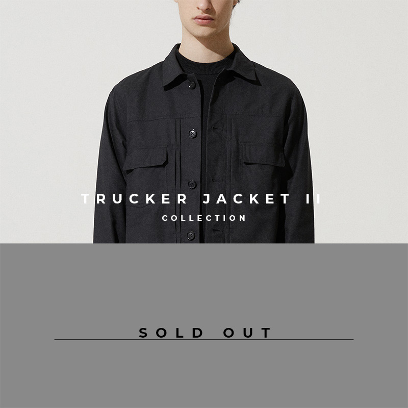 Trucker Jacket 2 - Lookbook Cover - Sold Out